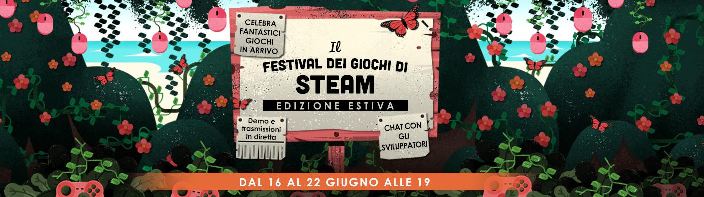 Steam Game Festival wallpaper logo