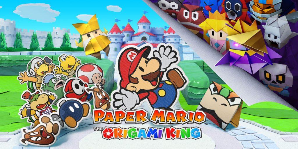 Paper Mario Nintendo Treehouse