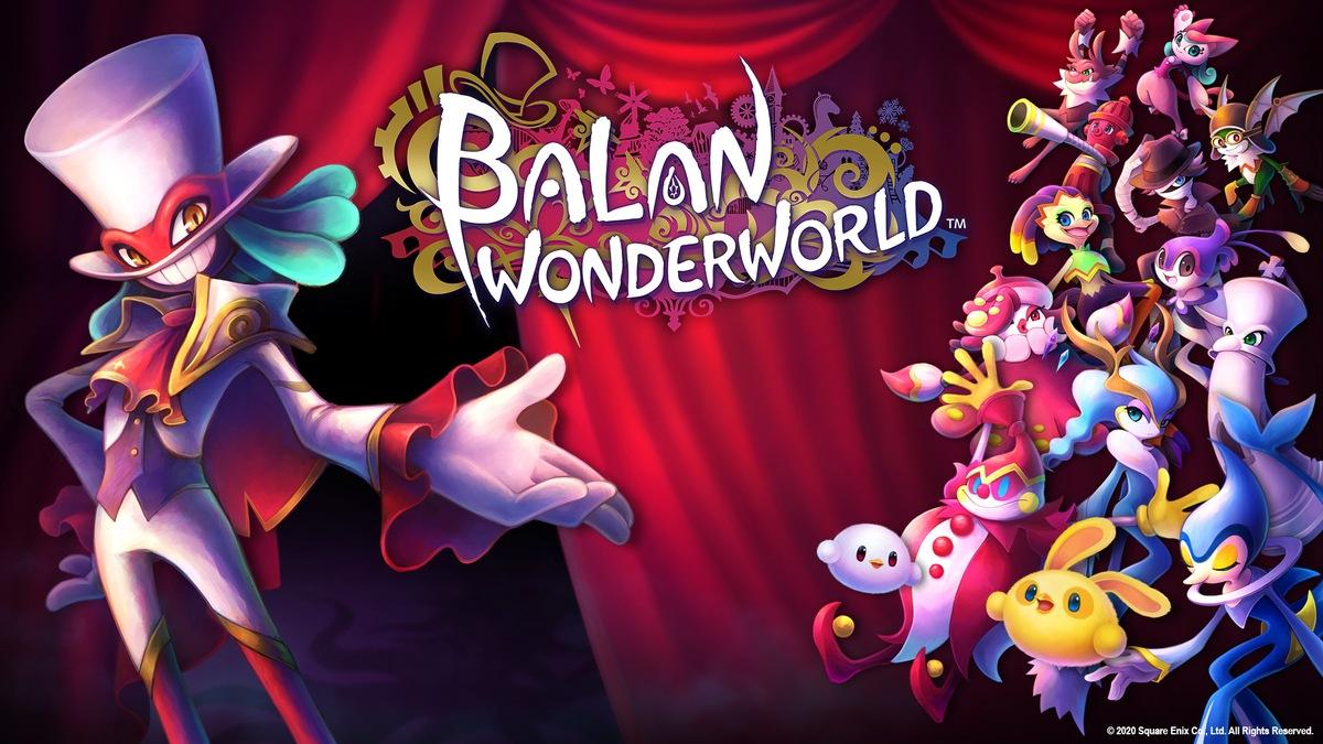 Balan Wonderworld wallpaper logo