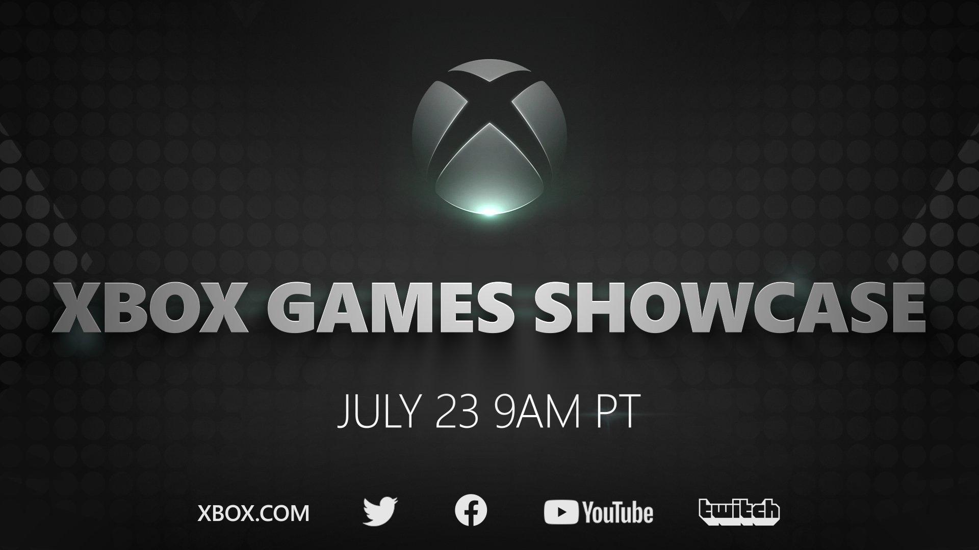 Xbox Games Showcase wallpaper logo