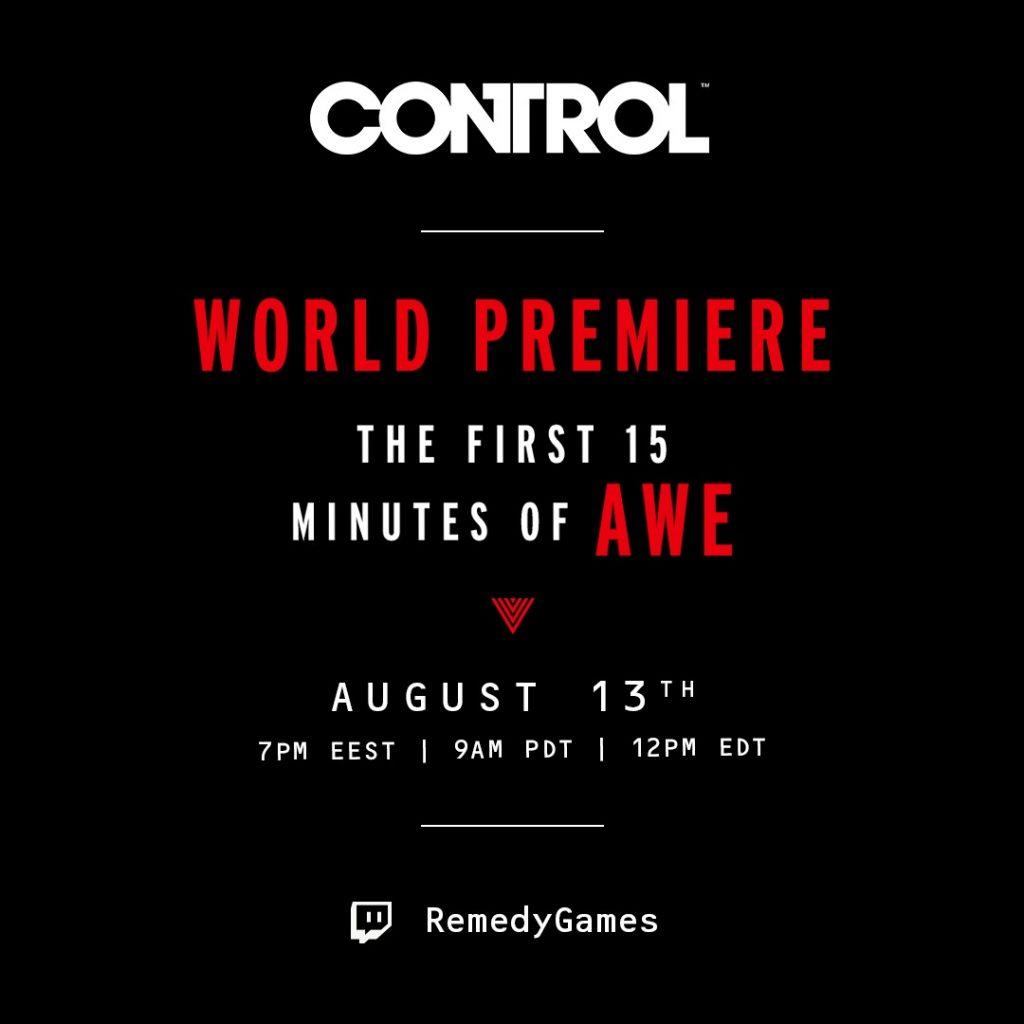 Remedy Entertainment annuncia Control Ultimate Edition 2