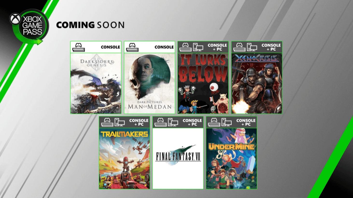 Xbox Game Pass: le novità di Agosto 2020 wallpaper