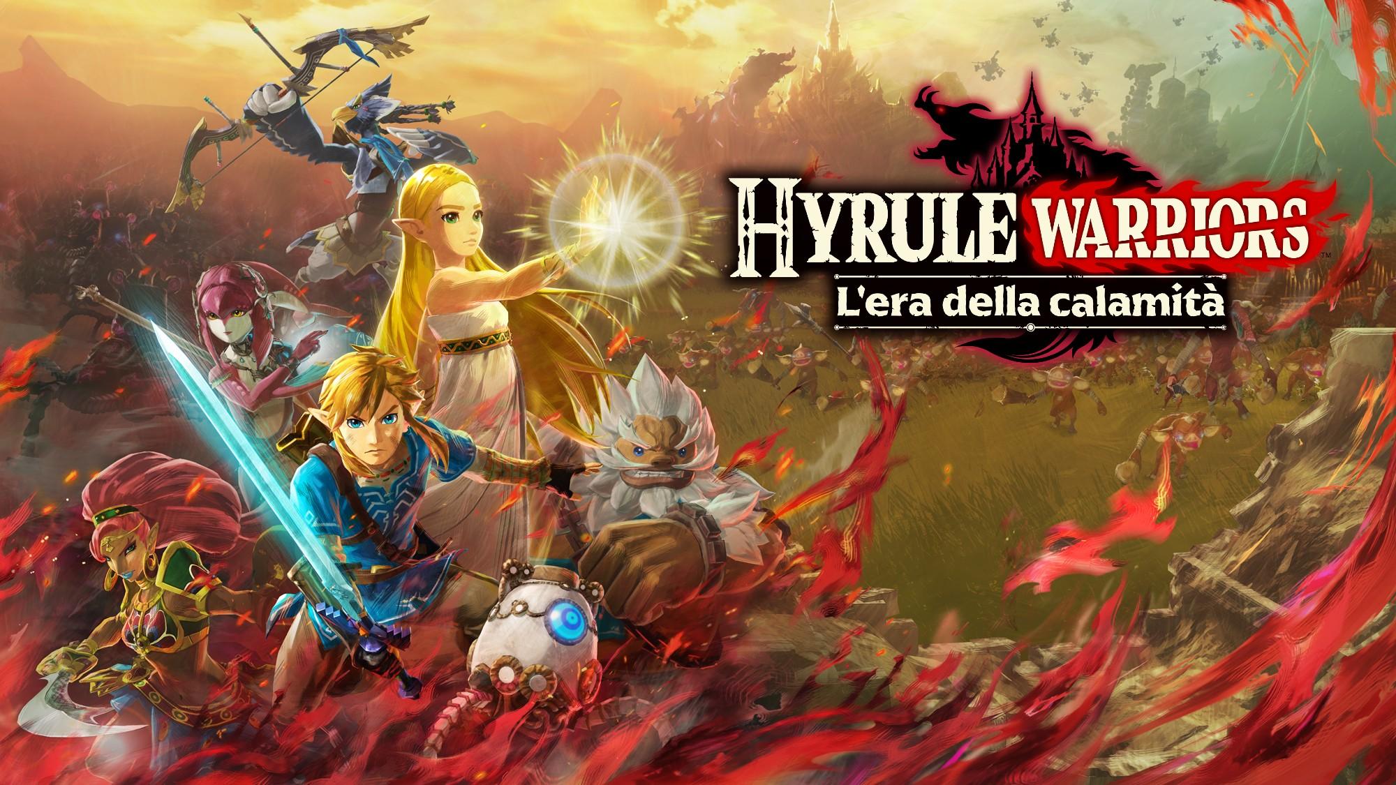 Hyrule Warriors: L'era della calamità wallpaper