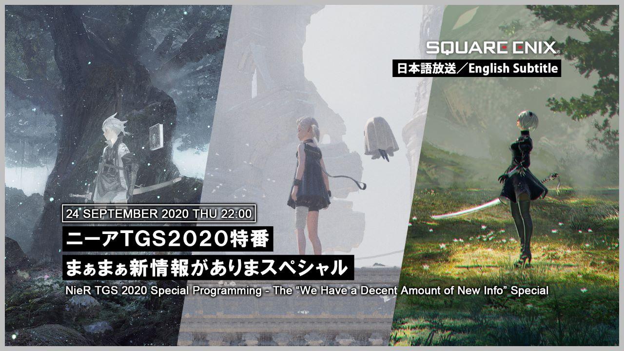 NieR Replicant e NieR Re[in]carnation, nuove informazioni saranno svelate al Tokyo Game Show 2020 1
