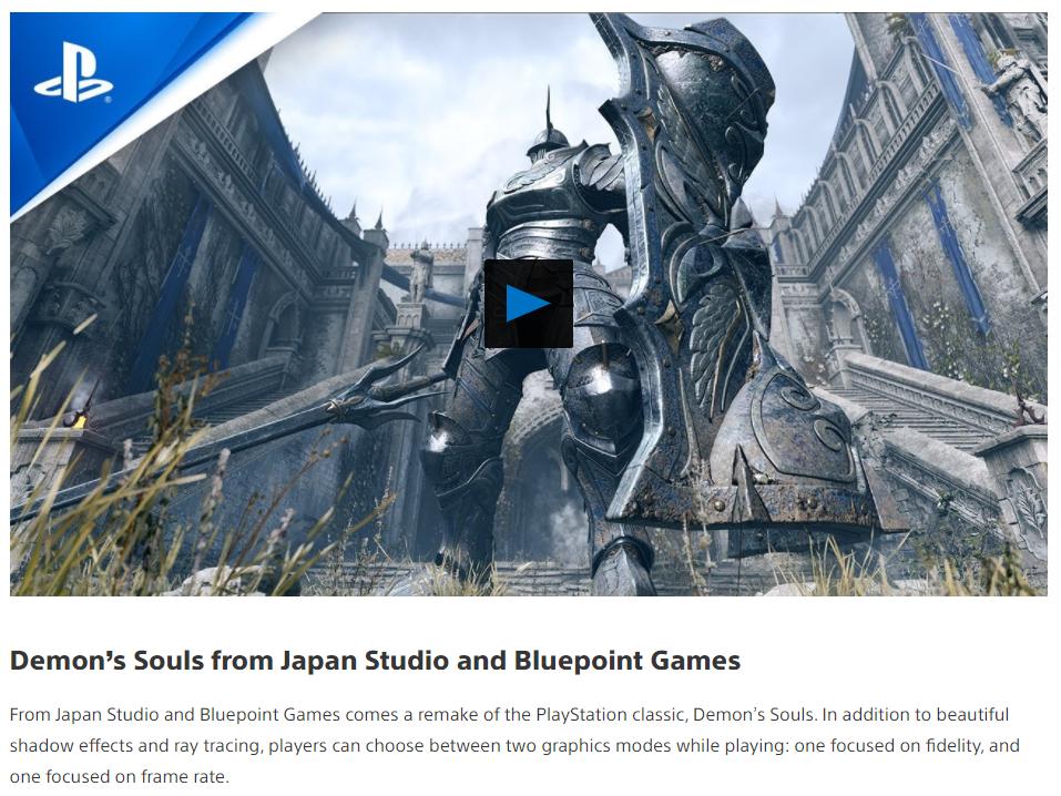 Demon's Souls: non supporterà il ray tracing su PlayStation 5 2