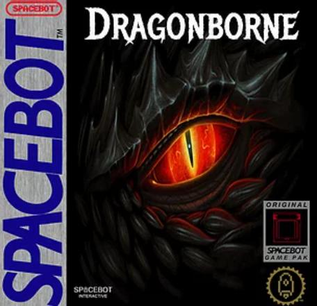 Dragonborne Cover Game boy Gdr
