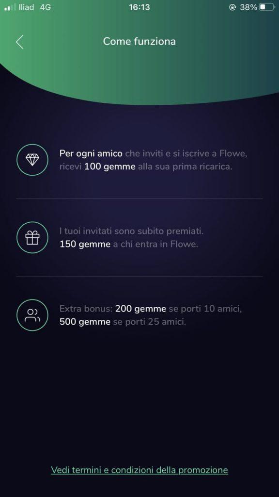 Con Flowe, buoni regalo Amazon gratuiti 1