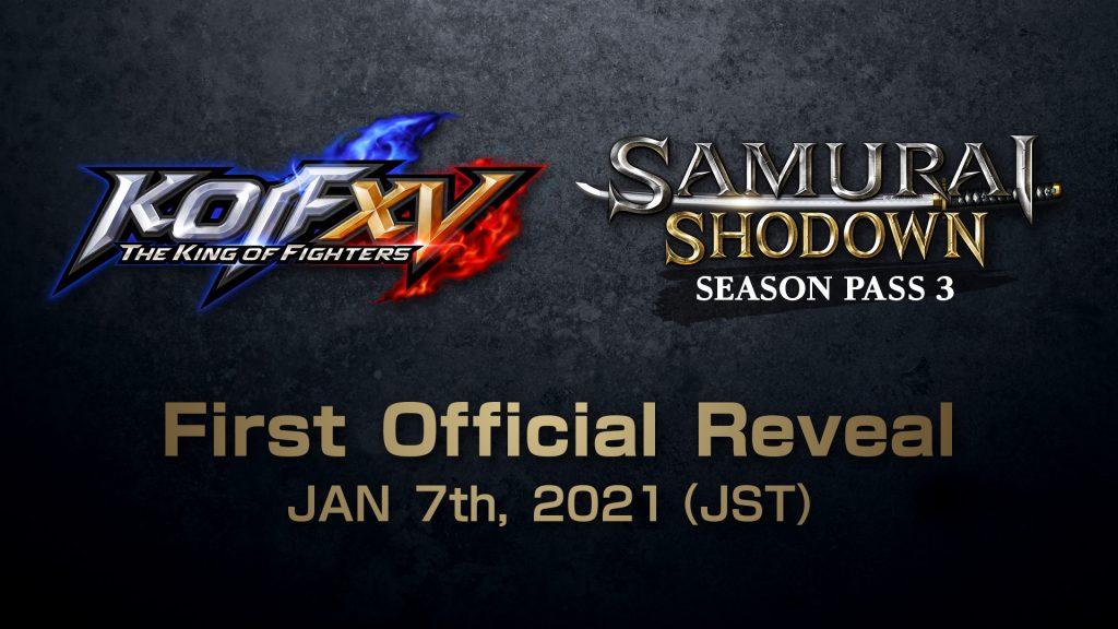 The King of Fighter XV Samurai Shodown