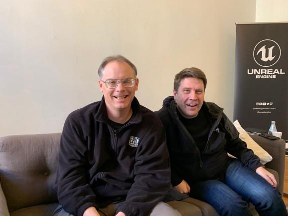 Kim Libereri e Tim Sweeney Unreal Engine Epic Games