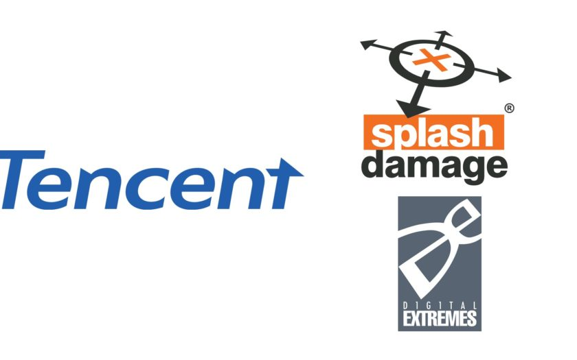 Tencent Splash Damage Digital Extremes