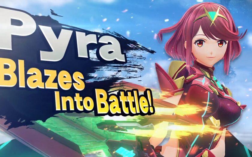 Pyra Super Smash Bros Ultimate